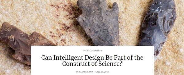 canintelligentdesignbepart