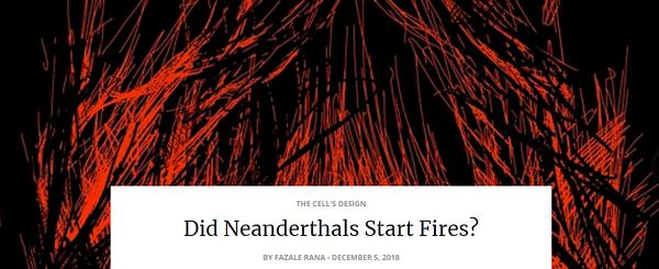 neanderthalsstartfire